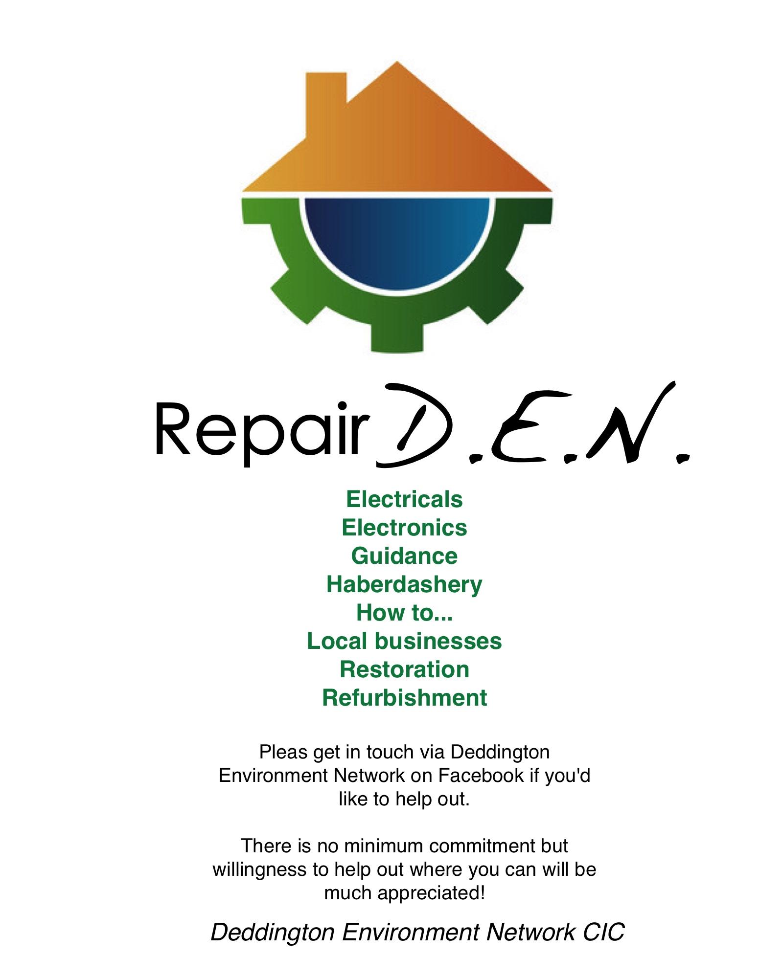 repair den poster